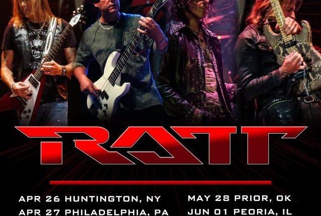Reunited RATT Announces U.S. Tour Dates