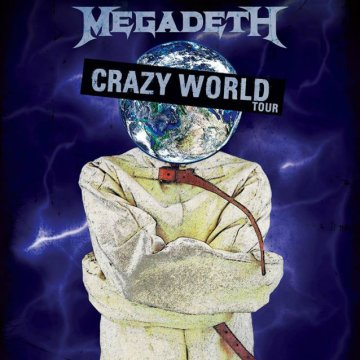 SCORPIONS Announce 'Crazy World' North American Tour With MEGADETH