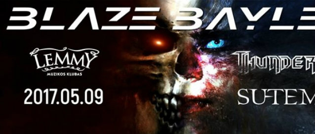 Video: BLAZE BAYLEY Performs In Kaunas, Lithuania