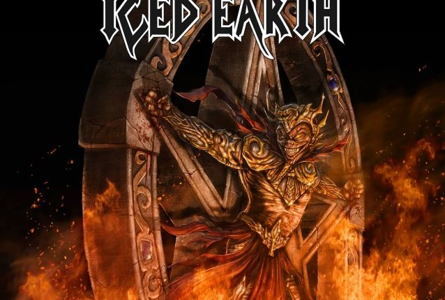 ICED EARTH: Watch Lyric Video For New Song 'Great Heathen Army'