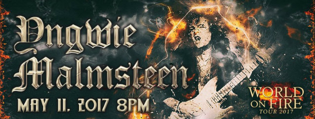 Video: YNGWIE MALMSTEEN Performs In Newton, New Jersey