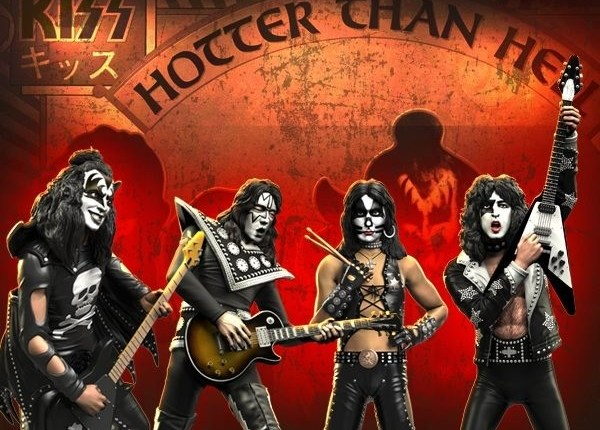 KISS 'Hotter Than Hell' And 'Alive!-Era Rock Iconz Statues Coming In The Fall
