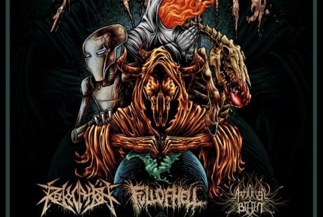 CATTLE DECAPITATION Announces 'North American Extinction Tour Part II: Inhuman Beings' With REVOCATION, FULL OF HELL