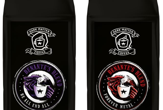 ANTHRAX's CHARLIE BENANTE Enhances And Relaunches His 'Benante's Blend' Coffee Line