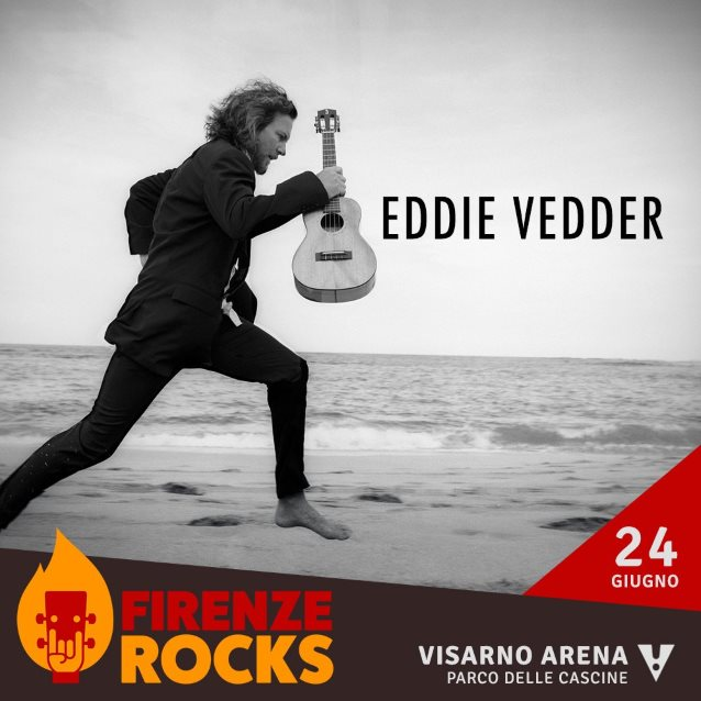 EDDIE VEDDER Plays Biggest Show Of Solo Career At Italy's FIRENZE ROCKS Festival