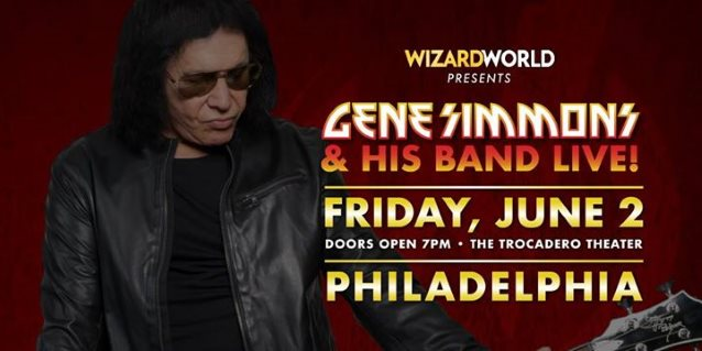 Watch GENE SIMMONS Perform With His Solo Band In Philadelphia