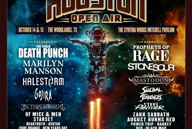 FIVE FINGER DEATH PUNCH, MARILYN MANSON, PROPHETS OF RAGE, STONE SOUR Set For HOUSTON OPEN AIR