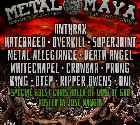 HATEBREED, CROWBAR, WHITECHAPEL, PRONG Added To METAL MAYA Heavy Metal Dest-Fest
