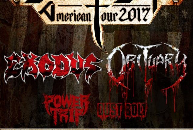 OBITUARY And EXODUS To Join Forces For North American 'Battle Of The Bays' Tour