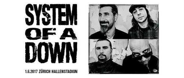 Watch SYSTEM OF A DOWN's Entire Zurich Concert