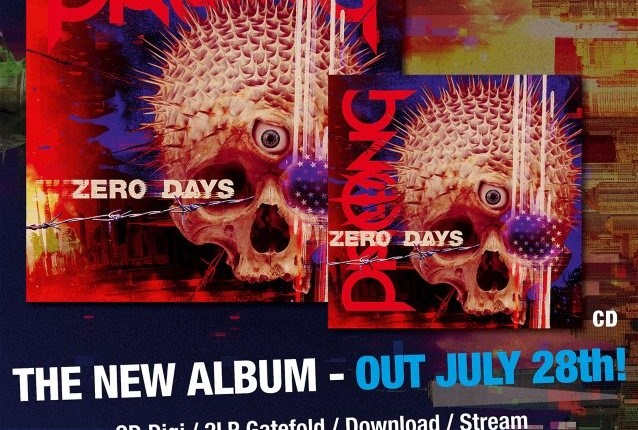 PRONG: Lyric Video For New Song 'Divide And Conquer'