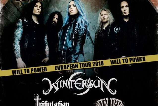 ARCH ENEMY Announces Early 2018 European Tour With WINTERSUN, TRIBULATION And JINJER