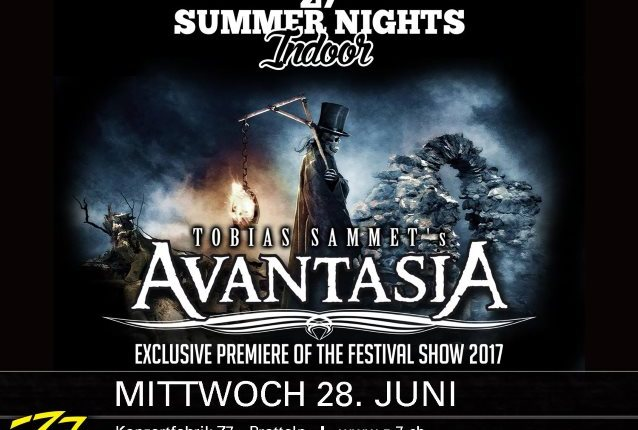Former QUEENSRŸCHE Singer GEOFF TATE Performs With AVANTASIA In Switzerland (Video)