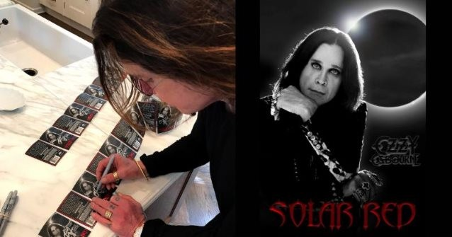 OZZY OSBOURNE: 'Solar Red Wine' Now Available