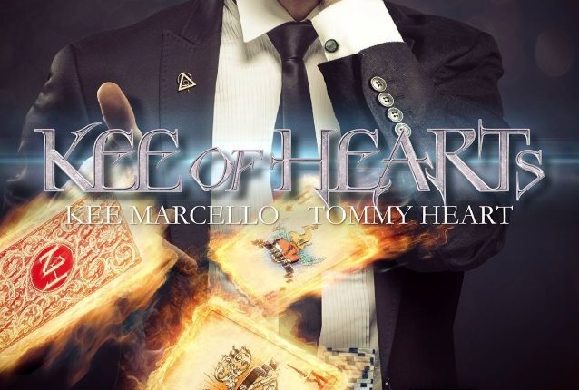 KEE OF HEARTS Feat. Former EUROPE Guitarist KEE MARCELLO, FAIR WARNING Singer TOMMY HEART: EPK For Debut Album