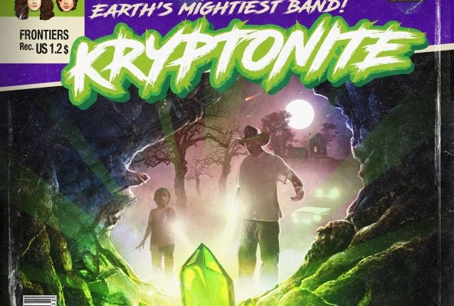 KRYPTONITE Feat. KING DIAMOND, THE POODLES Members: 'Across The Water' Lyric Video