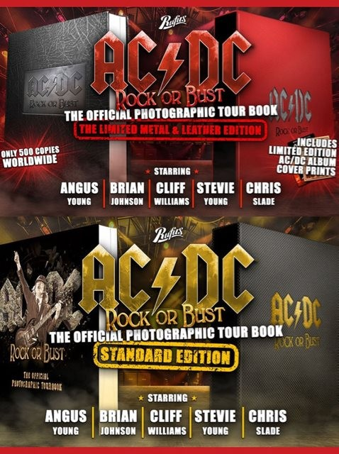 AC/DC: Official Trailer For 'Rock Or Bust: The Official Photographic Tour Book'