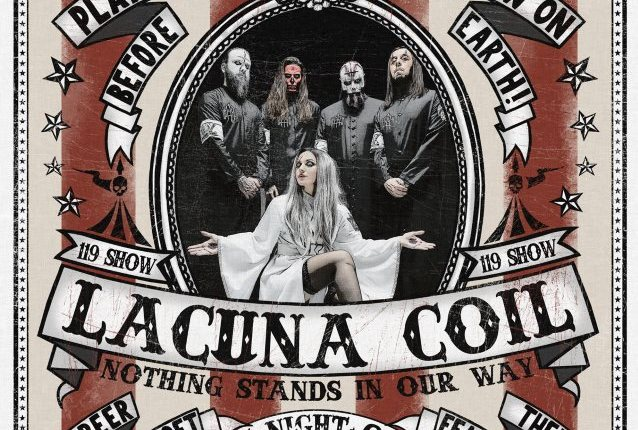 LACUNA COIL's ANDREA FERRO Says 20th-Anniversary Concert Will Be 'A Very Special Event'