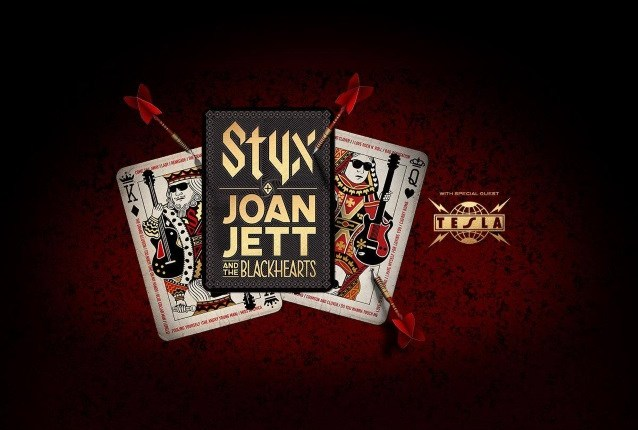 STYX, JOAN JETT & THE BLACKHEARTS And TESLA Announce U.S. Tour