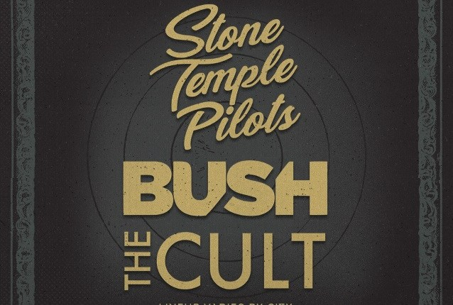 Watch STONE TEMPLE PILOTS, BUSH And THE CULT Perform At 'The Revolution 3 Tour' Launch Event