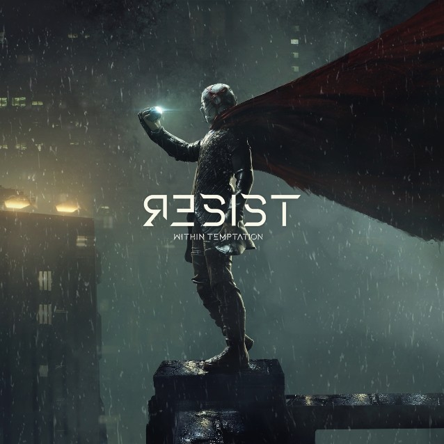 WITHIN TEMPTATION: Lyric Video For New Single 'The Reckoning' Featuring PAPA ROACH's JACOBY SHADDIX