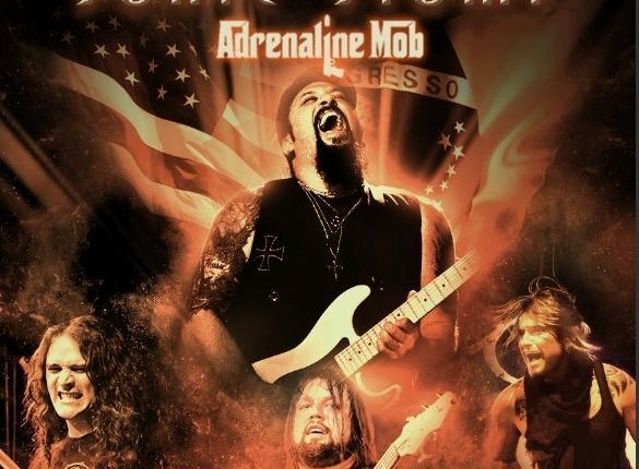 ADRENALINE MOB Guitarist MIKE ORLANDO To Release 'Sonic Stomp' DVD