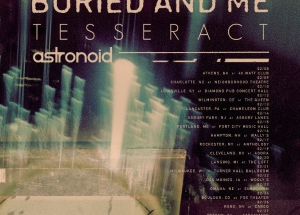 BETWEEN THE BURIED AND ME Announces 'Automata II' North American Tour With TESSERACT And ASTRONOID