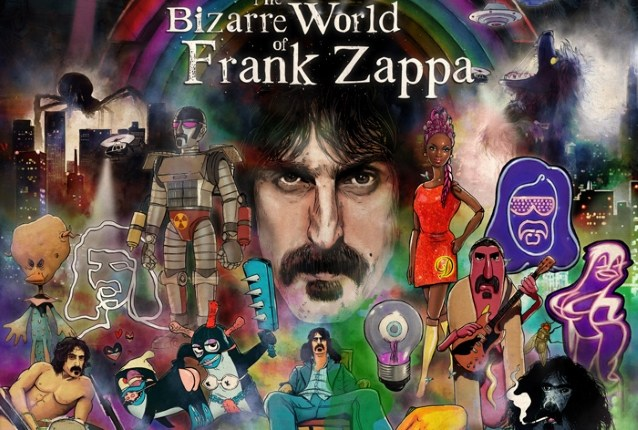 Hear FRANK ZAPPA Talking About Holograms In Promo Video For 2019 'The Bizarre World Of Frank Zappa' Tour