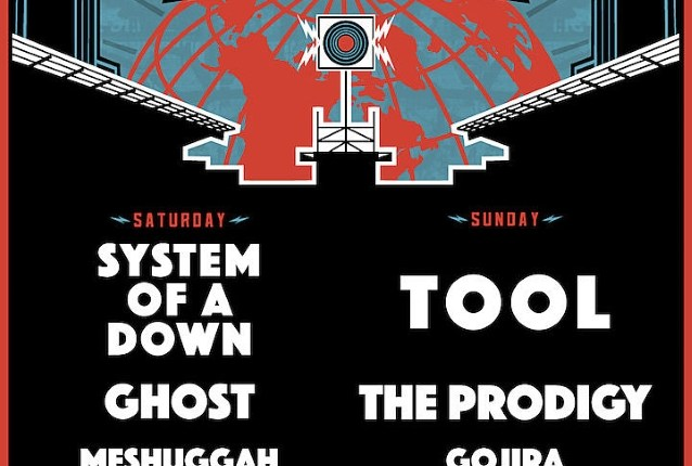 SYSTEM OF A DOWN, TOOL, THE PRODIGY, GHOST Set For CHICAGO OPEN AIR