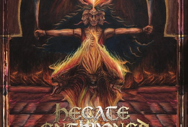 HECATE ENTHRONED: Lyric Video For New Song 'Temples That Breathe'