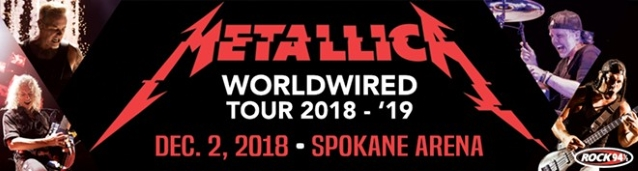METALLICA Concert Attendance Sets New Spokane Arena Record