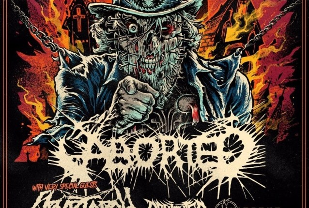 Video Premiere: ABORTED's 'Deep Red'