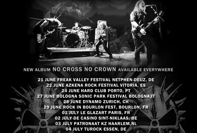 CORROSION OF CONFORMITY To Celebrate 25th Anniversary Of 'Deliverance' On European Tour