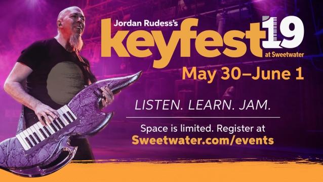 DREAM THEATER's JORDAN RUDESS Announces Fourth Annual 'Keyfest'