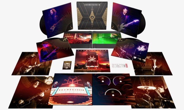 SOUNDGARDEN: 'Live From The Artists Den' Unboxing Video
