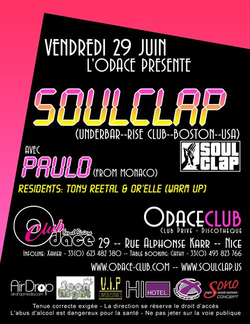 Soul Clap at Odace Nice France