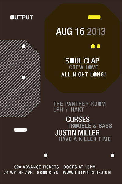 Soul Clap Output 08-16