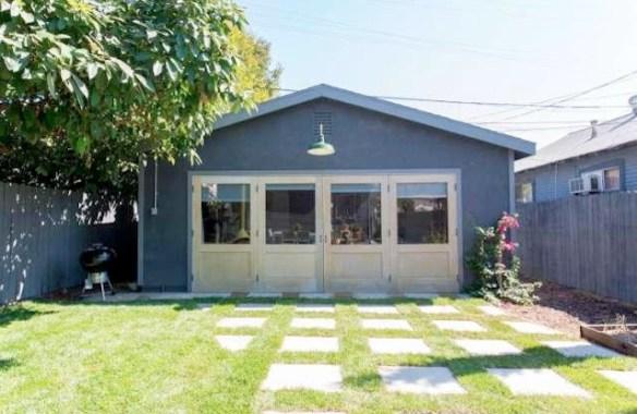 Yard and bonus studio