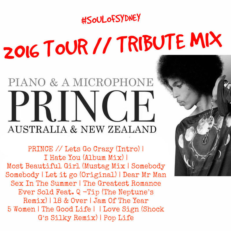 #PRINCE - The Midnight MixTape Tribute by Soul of Sydney DJ's // free download