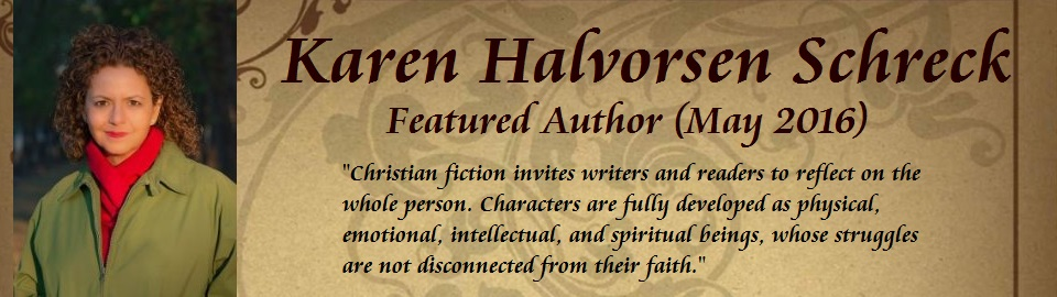 Featured Author: Karen Halvorsen Schreck