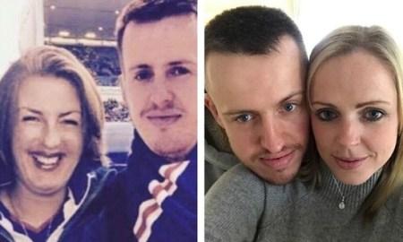 Слева фейковое фото, справа - Грэхем со своей настоящей девушкой