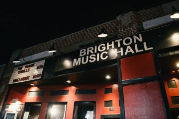 Brighton Music Hall - Outside - Knar Bedian