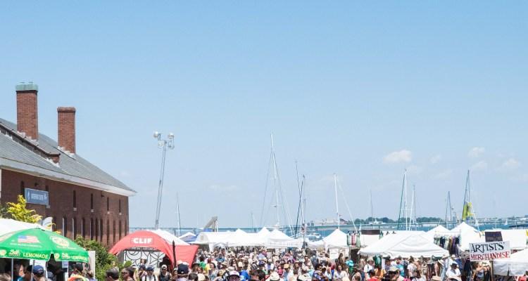 Newport Folk Festival Crowd