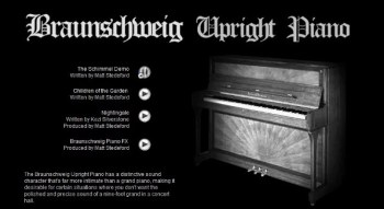 Imperfect Samples Braunschweig Upright Piano review