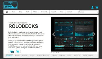 Twisted Tools Rolodecks Reaktor FX review