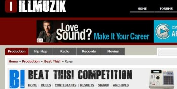 IllMuzik Beat This! Competition –  April 7-8th