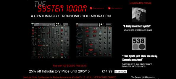 system 1000m