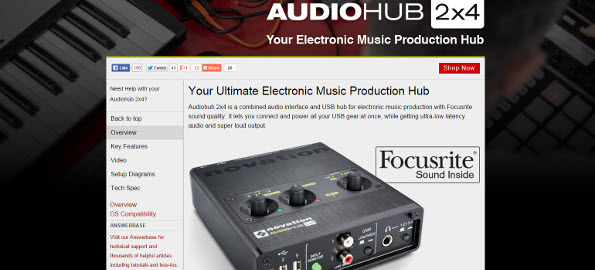 Review: Novation Audiohub 2