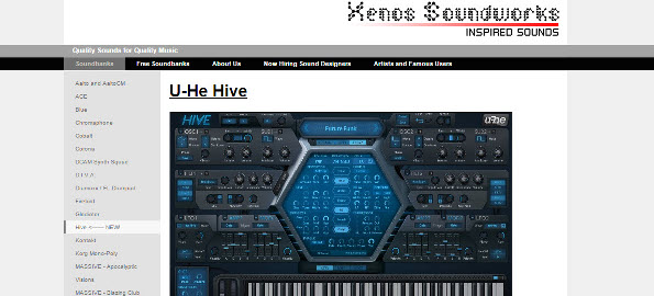 Demo: Xenos Soundworks Future Retro Beats Presets for u-he Hive synthesizer