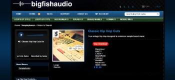 Big Fish Friday: Samplephonics Classic Hip Hop Cuts